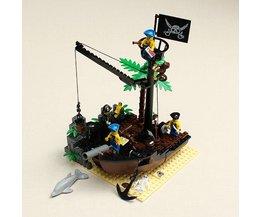 Blokjes Piratenschip NR 306 met 178 Bouwsteentjes