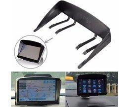 Zonneklep Voor GPS In De Auto