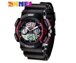 SKMEI 0895 Analoog en Digitaal Sport Horloge