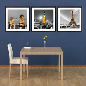 Canvas met Steden