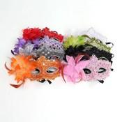 Venetiaanse Oogmaskers in Verschillende Kleuren