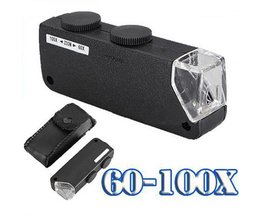 Microscoop Vegrootglas