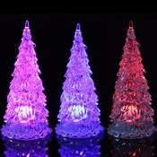 Mini Kerstboom Met Meerkleurige LED Verlichting