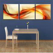 3-Delig Schilderij op Canvas