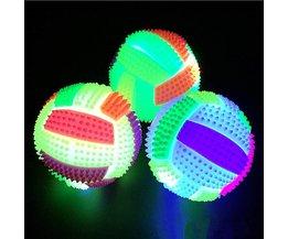 Mini Volleybal met Stekels en LED Licht