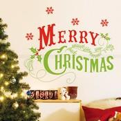 Muursticker Kerst