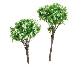 Decoratieve Miniatuur Kunstboom 4x3CM