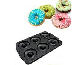 Non-Stick Bakvorm voor 6 Donuts
