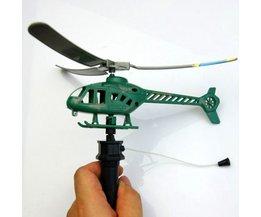 Speelgoed Helikopter met Trekkoord