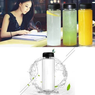 Transparante Smoothie Drinkfles 500ML