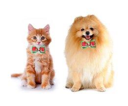 Verstelbare Kerststrik voor de Hond of Kat