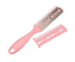Roze Haartrimmer van RVS en Plastic