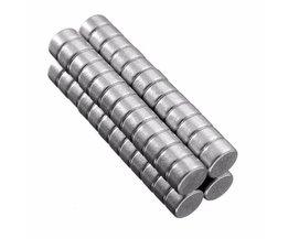 Neodymium Magneetjes 50 Stuks
