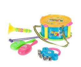 Speelgoed-Muziekinstrumenten (5-Delig)