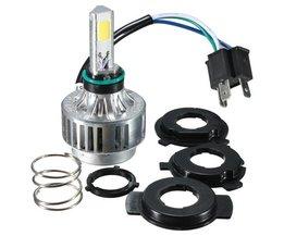 H4 LED Koplamp Universeel voor Motorfiets