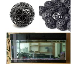 50 stuks zwarte Aquariumfilter (biologische balletjes)