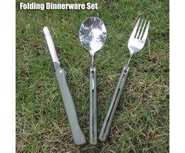 3-Delige Picknick Bestekset
