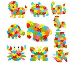 Alfabet Puzzels voor Kinderen