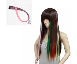 NAWOMI Hairextensions in Roze
