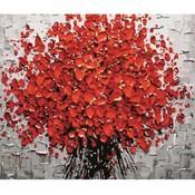 Bloemen Schilderen op Nummer 40x50CM
