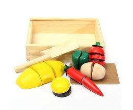 Educatief Fruit Groente Speelgoed van Hout