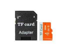 4GB SD Kaart met Adapter