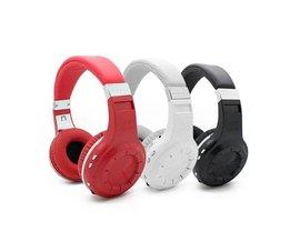 Bluetooth Koptelefoon met FM ontvanger, microfoon en Micro-SD ondersteuning