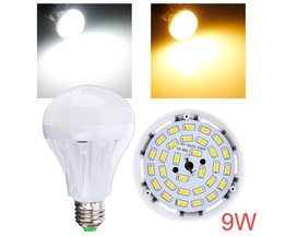 Lampfitting E27 9W