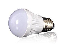 E27 3W LED in het Wit & Warm Wit