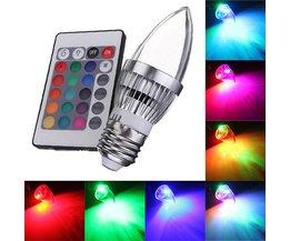 Kaarslamp LED Verlichting met Afstandsbediening