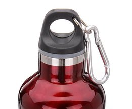 Drinkfles RVS met Fietsopdruk 550ML