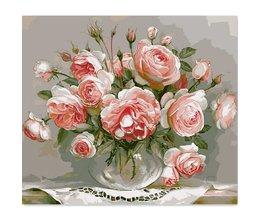 Set Schilderen op Nummer Bloemen