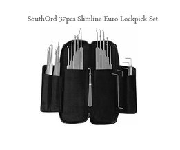 SouthOrd Slimline 37 Pcs Lockpick Set
