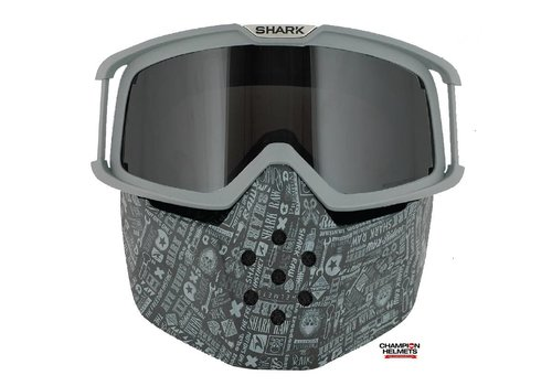 Shark Raw All Over Face Shield mask and goggles