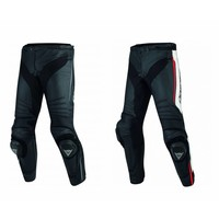 Dainese Dainese Super Race Leather Jacket White Red Black + 50% discount on the Pants!