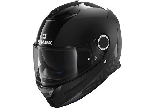 Shark Spartan Dual Black Casco