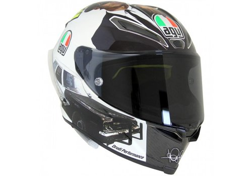 AGV Pista GP R Misano 2016 Rossi Helmet - Blues Brother