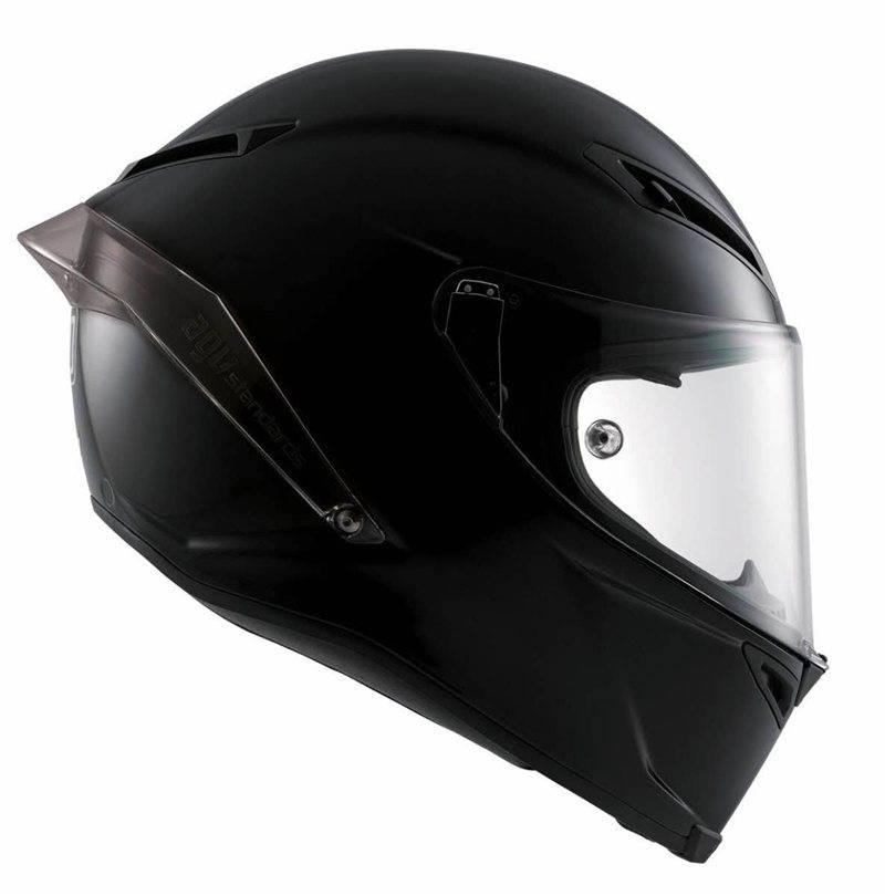 agv corsa r matt schwarz helm champion helmets motorradhelme. Black Bedroom Furniture Sets. Home Design Ideas