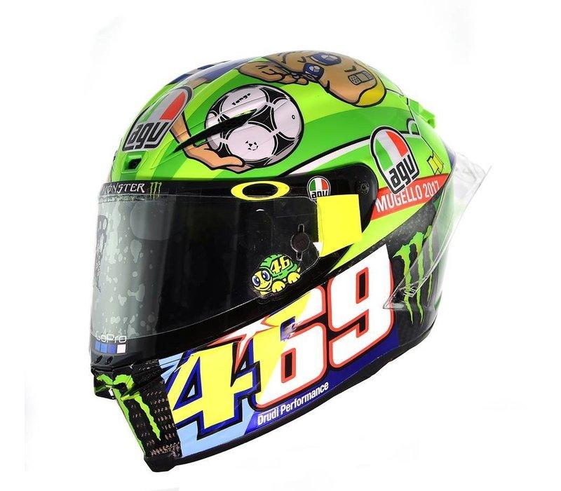 AGV Pista GP R Mugello 2017 Helmet + Free Extra Visor