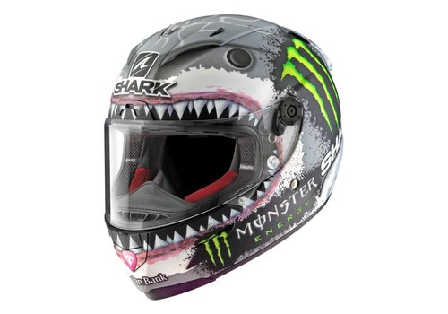 Shark Race-R Pro Lorenzo White Shark Casco - Limited Edition