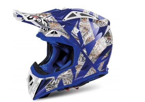 Airoh Aviator 2.2 Anniversary Blue Gloss Helm