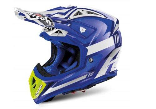 Airoh Aviator 2.2 Ottobiano Blue Gloss Helmet