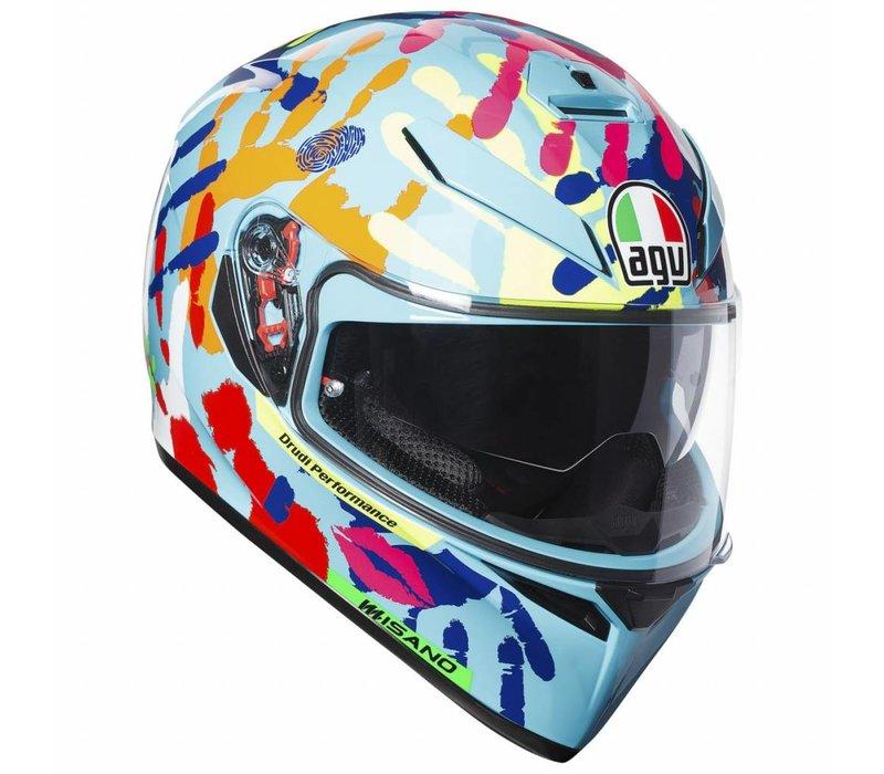 AGV K3 SV Misano 2014 Helm + 50% Rabatt auf ein zusätzliches Visier!