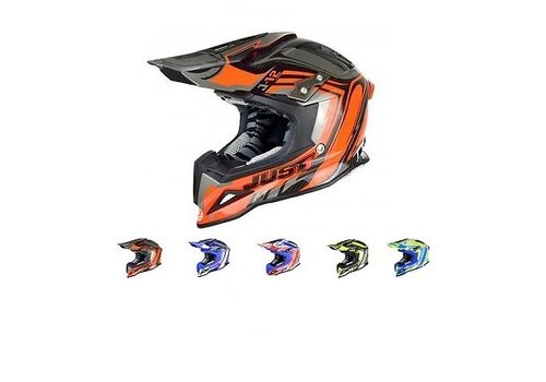 Just1 J12 Flame Casque