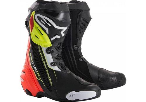 Alpinestars Alpinestars SUPERTECH-R Stivali Nero Rosso Giallo Fluo