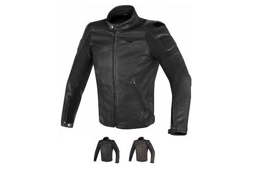 Dainese Street Darker Leather Giacca
