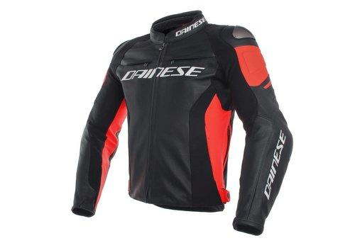 Dainese Racing 3 куртки - черный красный-флуо