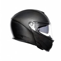 Buy AGV Sportmodular Carbon Matt Black Helmet? Free Additional Visor!
