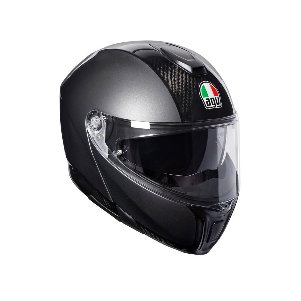 AGV Sportmodular Carbon Dark-Grey Helme