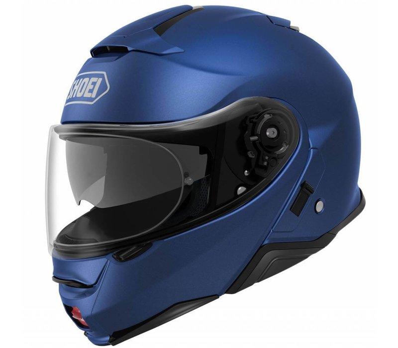 Shoei Neotec 2 Helmet Matt Blue + Free Visor!